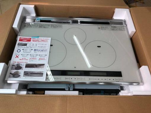 Bếp từ Hitachi HT-L8STWF (75cm) 3 bếp từ và phím cảm ứng   hangnhattoday.com