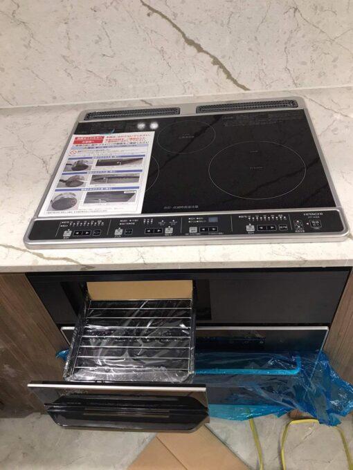 Bếp từ Hitachi HT-K6K toàn bộ mặt đen sản xuất 2021 | hangnhattoday.com