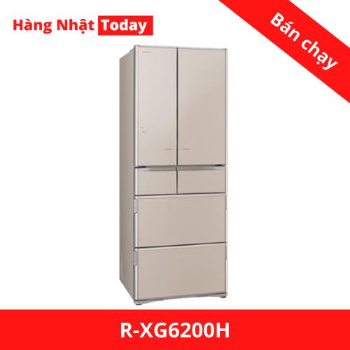 Tủ lạnh Hitachi R-XG6200H-1
