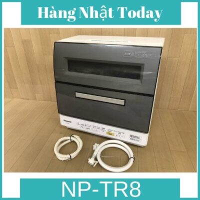Máy rửa bát Nhật bãi Panasonic NP-TR8