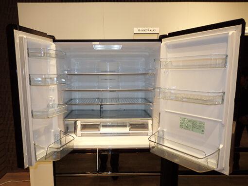 Ảnh thực tế tủ lạnh Hitachi R-WX62K