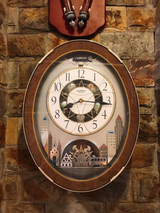 Đồng hồ treo tường Nhật Bản Small World