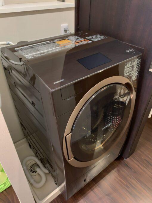 Máy giặt sấy Toshiba TW-127X7 sấy block, truyền động trực tiếp | hangnhattoday.com