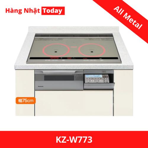 Bếp từ All Metal Panasonic KZ-W773-1