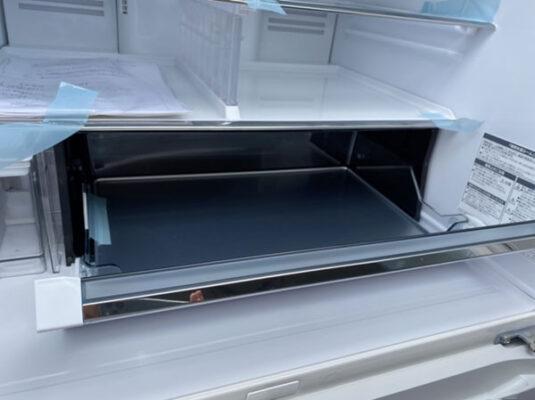 Tủ lạnh Hitachi R-HW60K 6 cánh mặt kính có đá rơi tự động | hangnhattoday.com