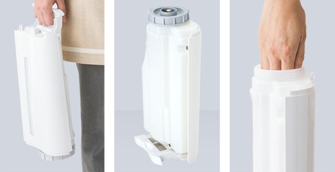 Bình nước bù ẩm máy lọc khí Sharp