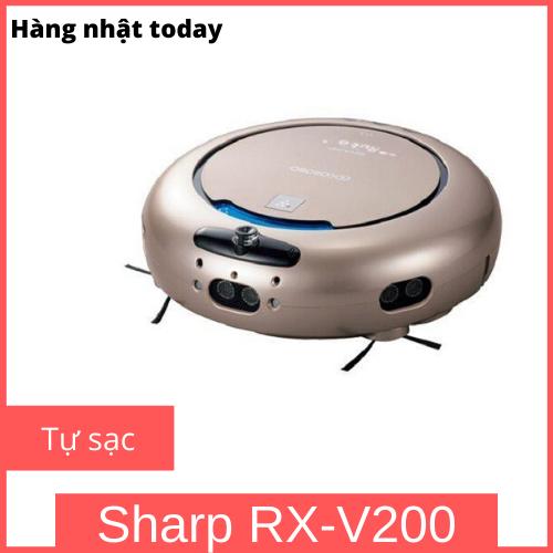 Robot hút bụi Sharp COCOROBO RX-V200