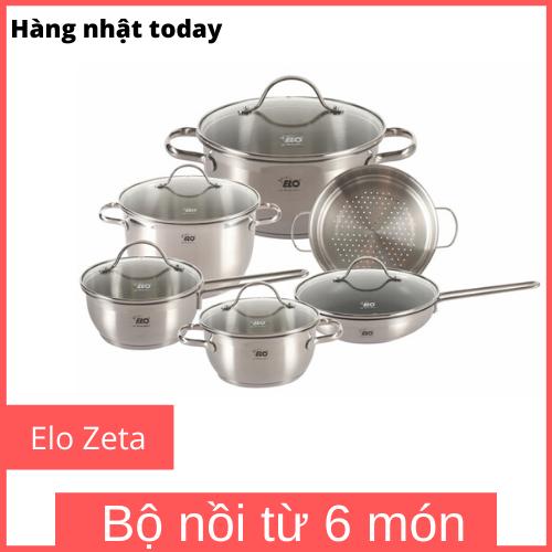 Bộ nồi từ Elo Zeta 6 món