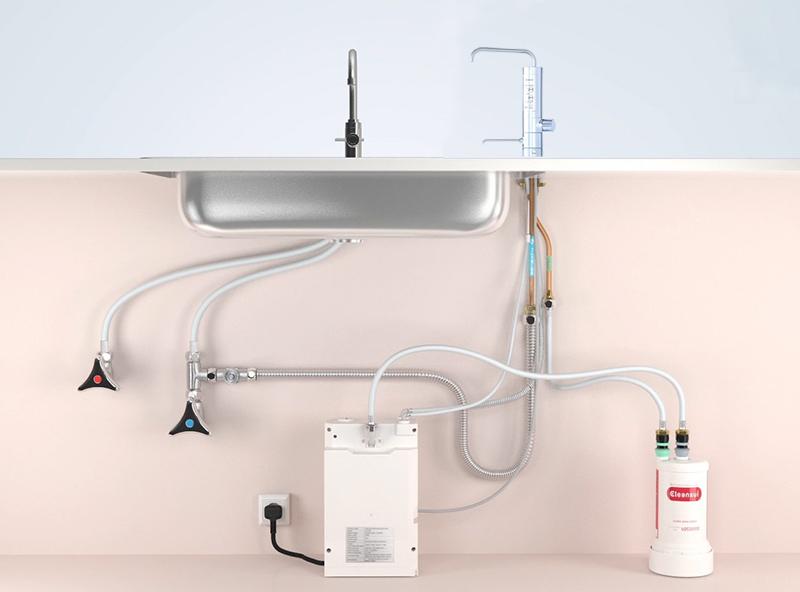 Tổng quan lắp đặt máy lọc nước Mistubishi AL800