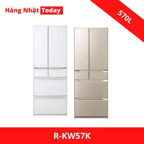 Tủ lạnh Hitachi R-KW57K-W-XN