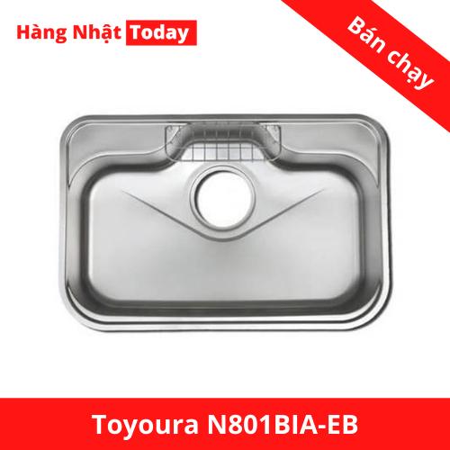 Chậu rửa bát TOYOURA N801BIA-EB