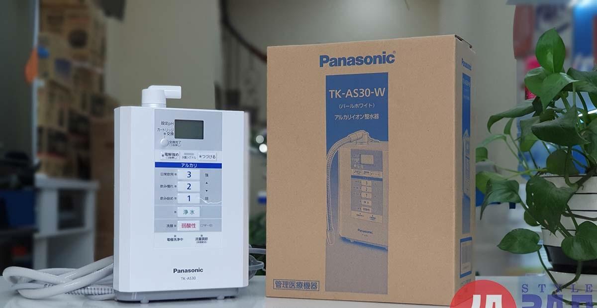 Máy lọc nước Panasonic TK-AS30 có 5 chế độ nước, lõi lọc 1 năm | hangnhattoday.com