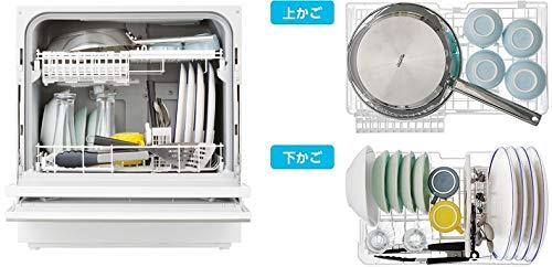 Xếp bát đĩa máy rửa bát Panasonic NP-TH3