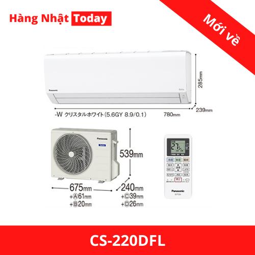 Điều hòa 2 chiều Panasonic CS-220DFL