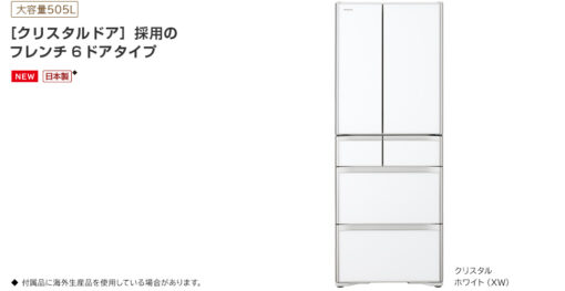 Tổng tuan tủ lạnh Hitachi R-X51N-XW