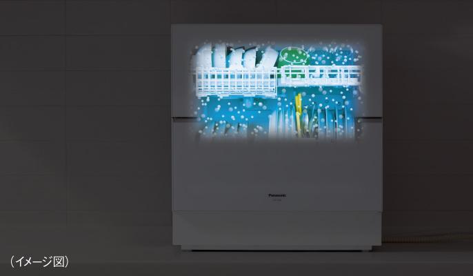 NanoeX trong máy rửa bát