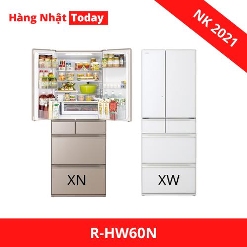 Tủ lạnh Hitachi R-HW60N (XW,XN) 600L ngăn cấp đông mềm | hangnhattoday.com
