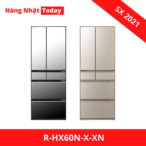 Tủ lạnh HItachi r-HX60N-X-XN